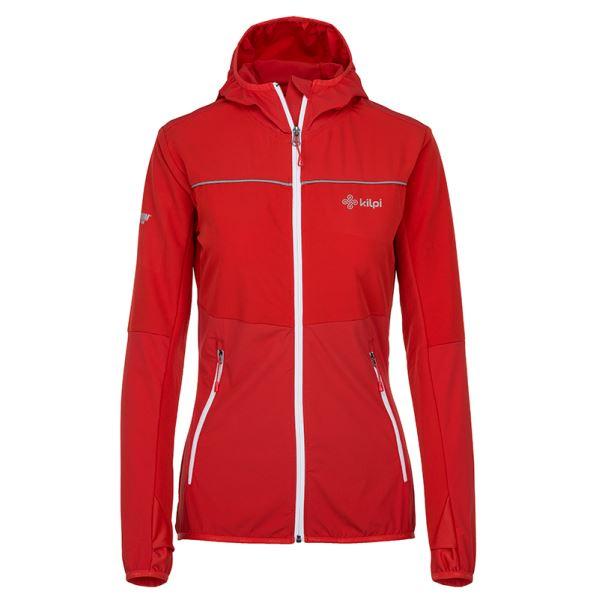 Dámska outdoorová bunda Kilpi JOSHUA-W červená