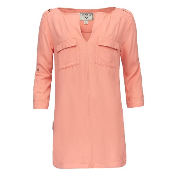 Dámska košeľa BUSHMAN BEATRICE oranžová