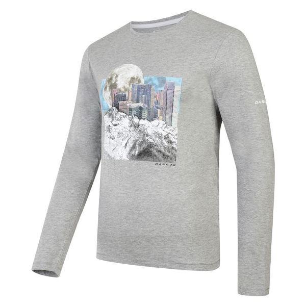 Pánske tričko Dare2b COALESCE sivá