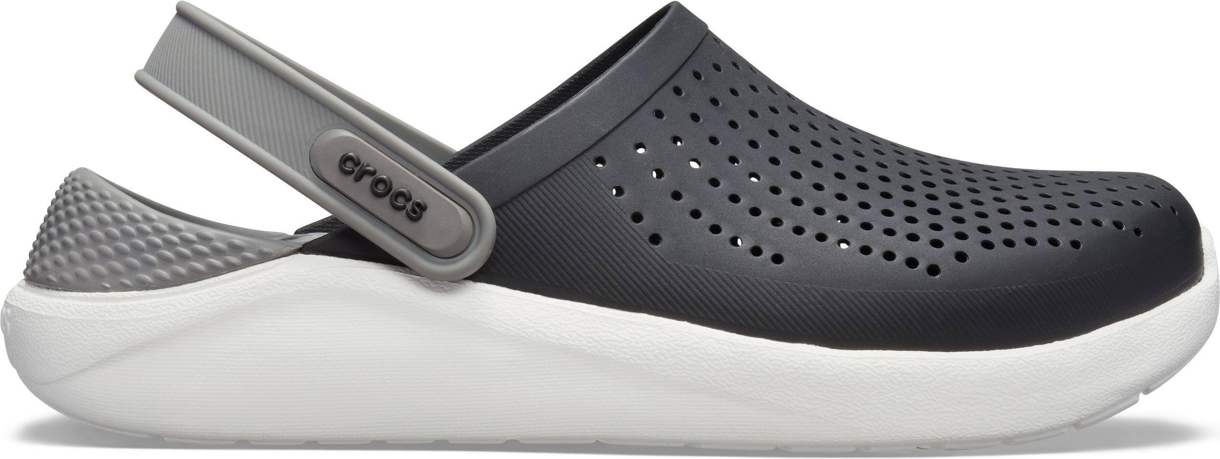 6063b22ceb1c4 Pánske topánky Crocs LiteRide Clog čierna / sivá / biela | hs-sport.sk