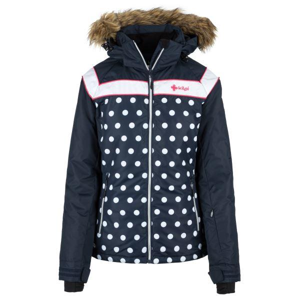 Dámska zimná bunda Kilpi BABU-W tmavo modrá