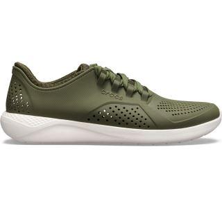 Tenisky Crocs LiteRide Pacer M zelená / biela