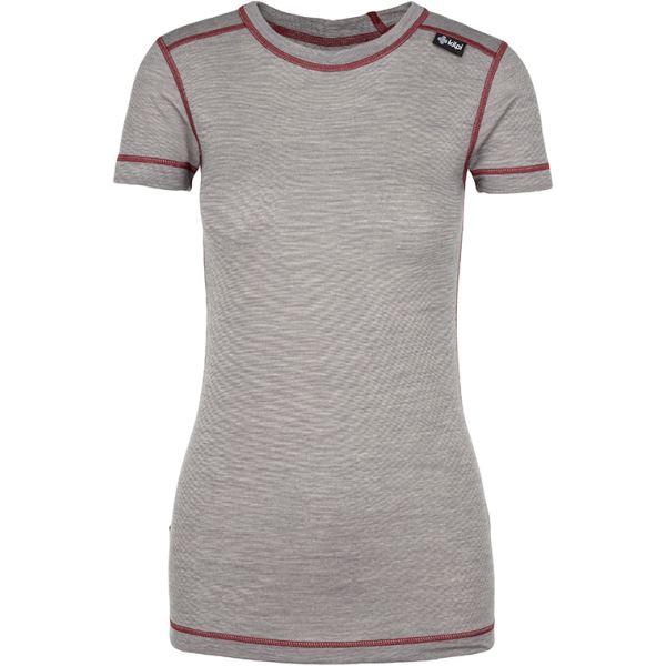 Dámske funkčné tričko Kilpi MERIN-W tmavo sidá