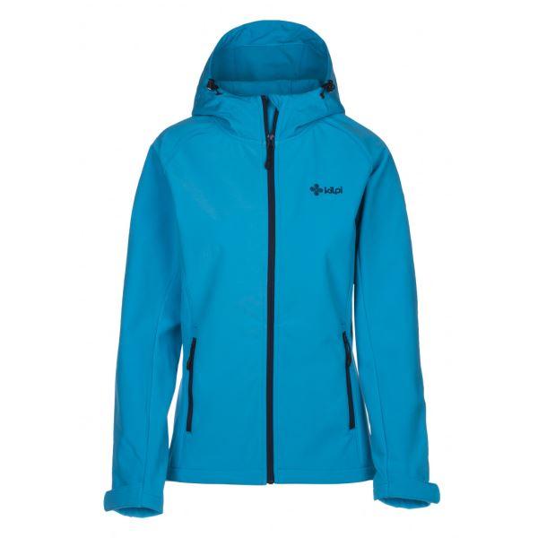 Dámska softshellová bunda Kilpi ELIA svetlo modrá