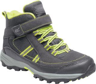 Detské topánky Regatta TRAILSPACE II Mid sivá / zelená