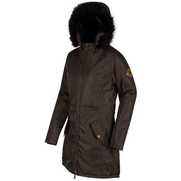 Dámsky zimný kabát Regatta LUCETTA tmavo khaki