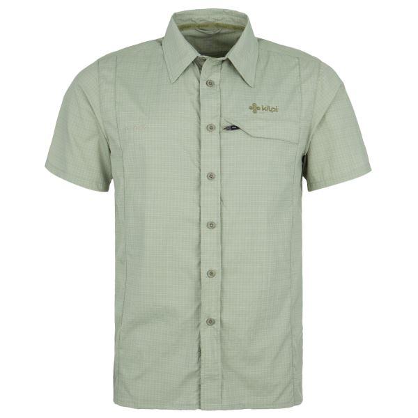 Pánska košeľa Kilpi BOMBAY khaki