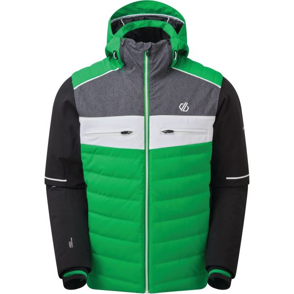 Pánska zimná bunda Dare2b CIPHER zelená / čierna