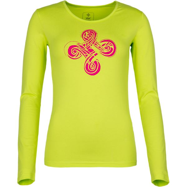 Dámske tričko Kilpi KALEVA-W svetlo zelená