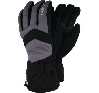 Zimné lyžiarske rukavice Dare2b prebiť čierna / sivá