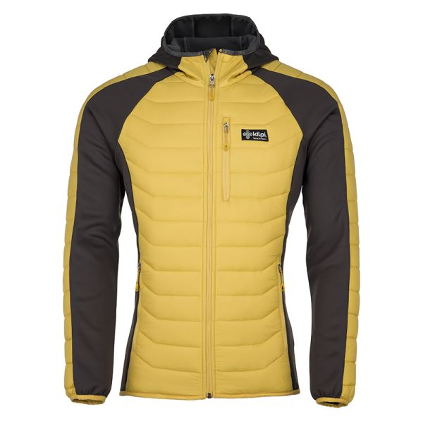 Pánska zimná prešívaná bunda Kilpi ADISA-M žltá