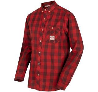 Pánska košeľa Regatta Loman červená