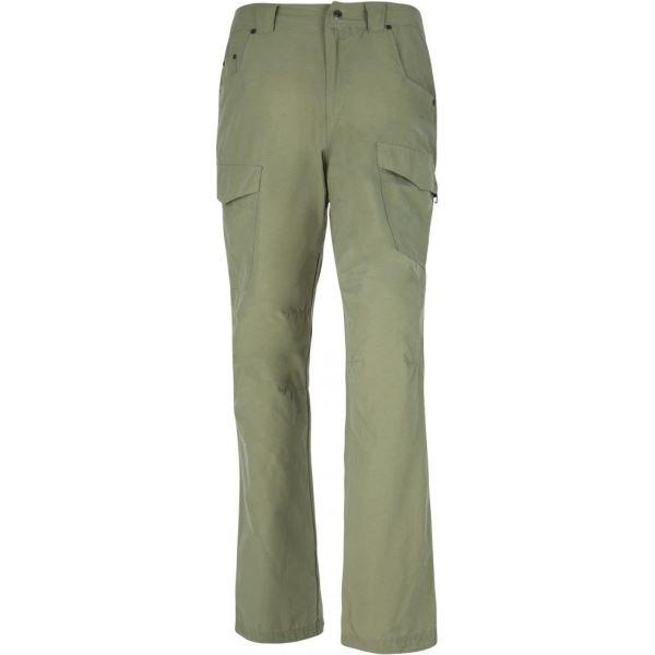 Pánske nohavice Kilpi TRAVELLER-M khaki