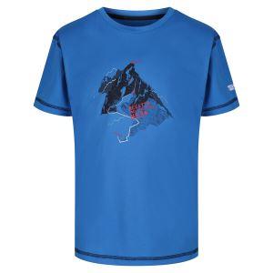 Detské funkčné tričko Regatta ALVARADO IV modrá