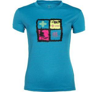 Dámske technické tričko Kilpi GIACINTO-W modrá