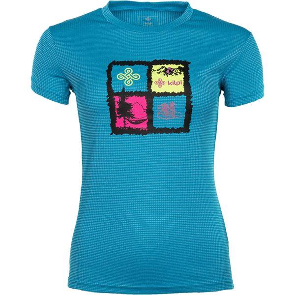 Dámske tričko Kilpi GIACINTO-W modrá