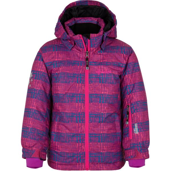 Detská zimná lyžiarska bunda Kilpi GENOVESA-JG fialová