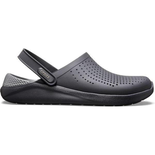 Pánske topánky Crocs LiteRide Clog Slate čierna/sivá