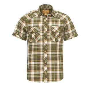 Pánska košeľa BUSHMAN BAGDAD zelená