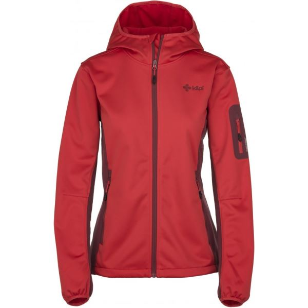 Dámska softshellová bunda Kilpi FORDINO-W červená