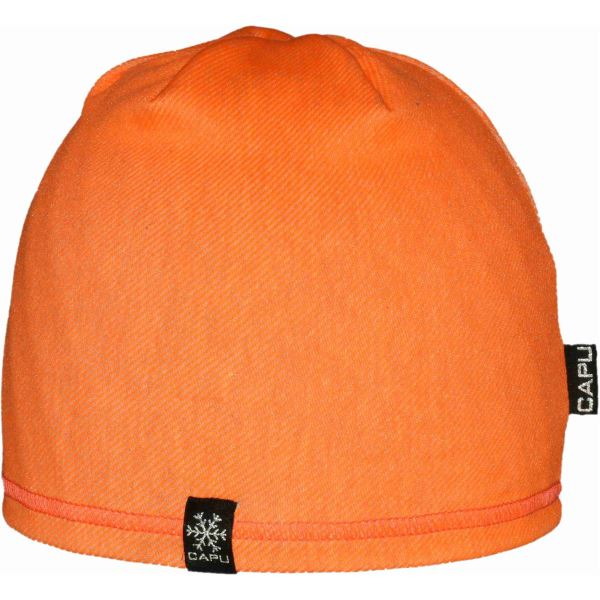 Detská čiapka CAPU 215 oranžová