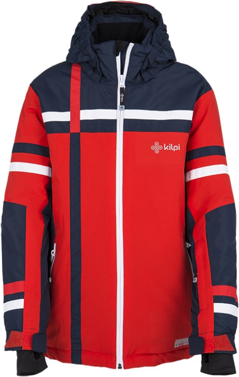 4721f08cf6dc Detské zimné lyžiarska bunda Kilpi TITAN-JB červená 110 116