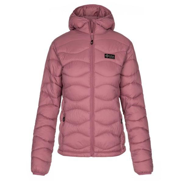Dámska zimná prešívaná bunda Kilpi REBEKI-W ružová