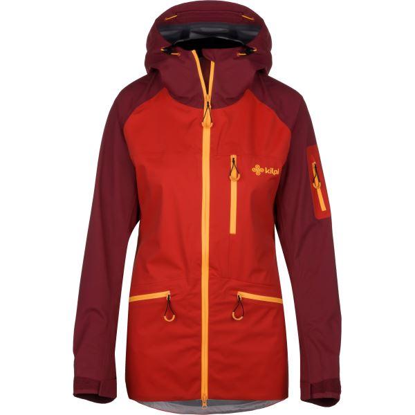 Dámska trojvrstvová bunda Kilpi NALAU-W červená