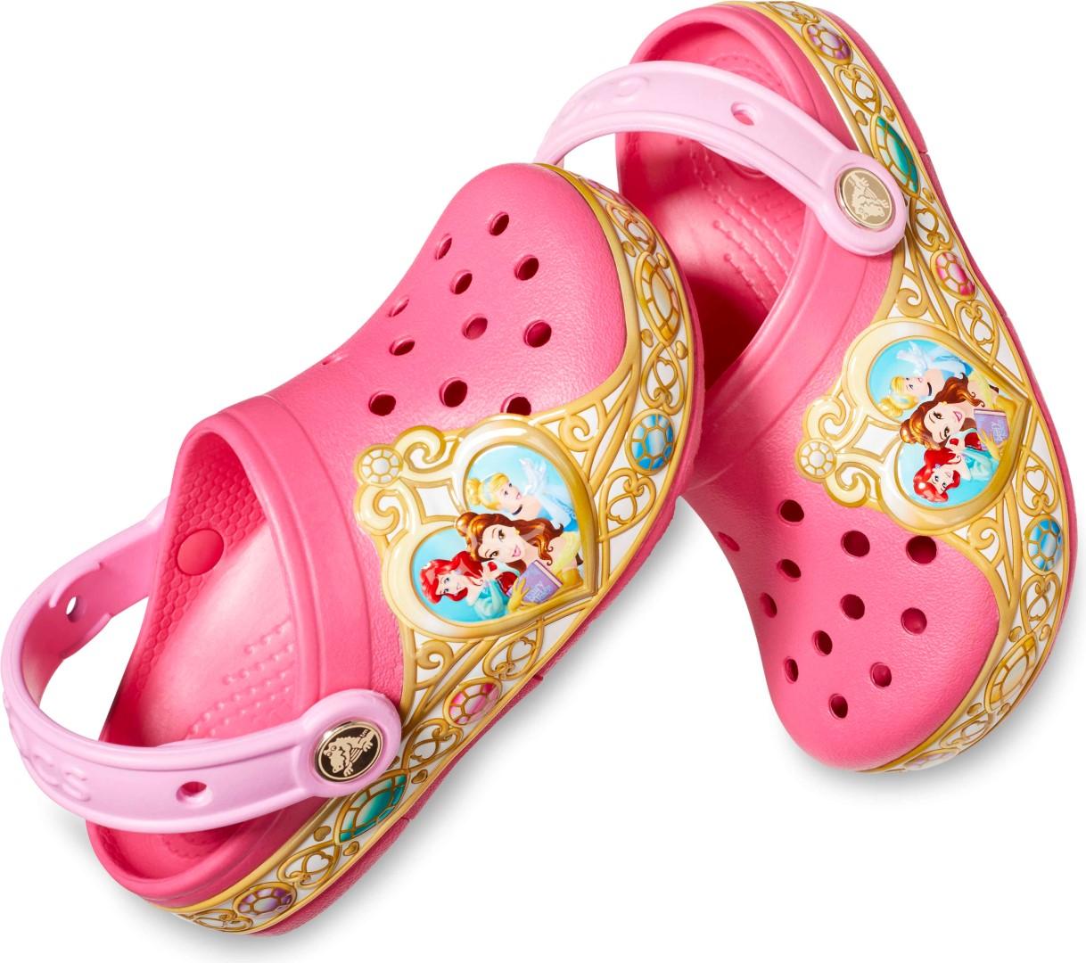 Detské topánky Crocs Crocband ™ Disney ™ Princess ružová  0659be77702