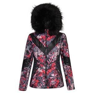 Dámska zimná bunda Dare2b EMPEROR biela / čierna 32
