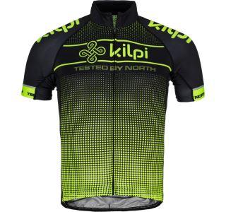 Pánsky cyklistický dres Kilpi ENTERO-M žltá