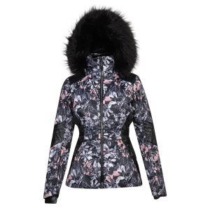 Dámska zimná lyžiarska bunda Dare2b HIGHNESS čierna / ružová