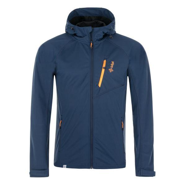 Pánska softshellová bunda Kilpi CAMPO-M tmavo modrá