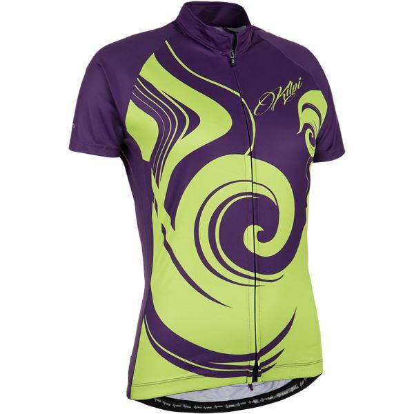 Dámsky cyklisitický dres Kilpi FOXIERA-W fialová