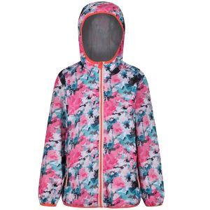Detská bunda Regatta PRINTED LEVER ružová