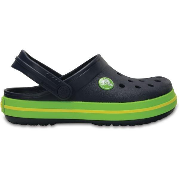 Detské topánky Crocs Kids CROCBAND™ Clog tmavo modrá / zelená