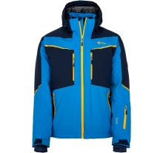 Pánska zimná lyžiarská bunda Kilpi IO-M modrá (nadmerná veľkosť)