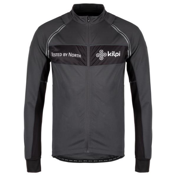 Pánska funkčná bunda Kilpi ZESTER-M tmavo sivá