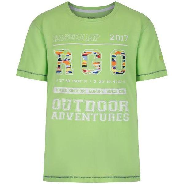 Detské tričko Regatta BOBBLES II zelená