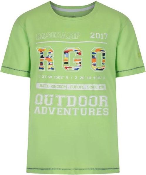 3cd19ea82ec31 Detské tričko Regatta BOBBLES II zelená 176 | hs-sport.sk