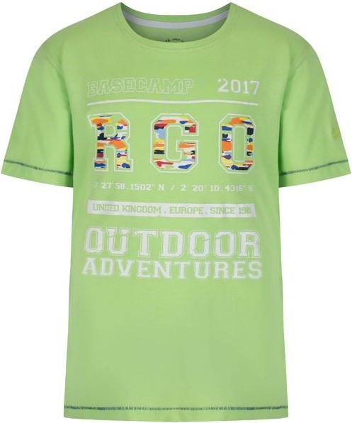 90e6fd895361e Detské tričko Regatta BOBBLES II zelená 176 | hs-sport.sk