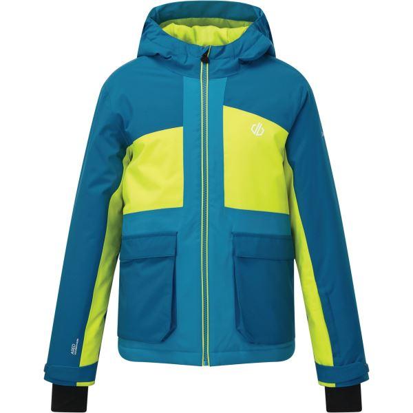 Detská zimná bunda Dare2b ESTEEM modrá / limetková
