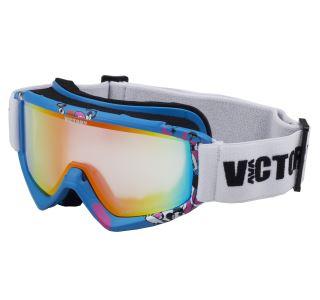 Detské lyžiarske okuliare Victory SPV 630 modrá