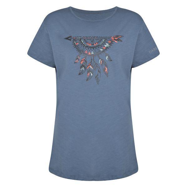 Dámske tričko Dare2b AIM HIGHER dymovo šedá