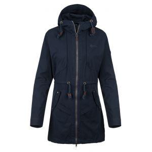 Dámsky kabát Kilpi PAU-W tmavo modrá (nadmerná veľkosť)
