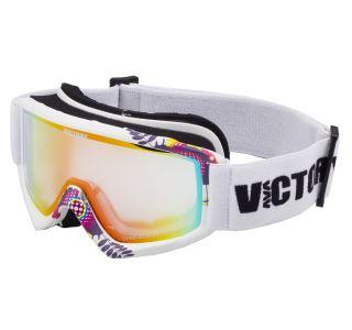 Detské lyžiarske okuliare Victory SPV 630 biela