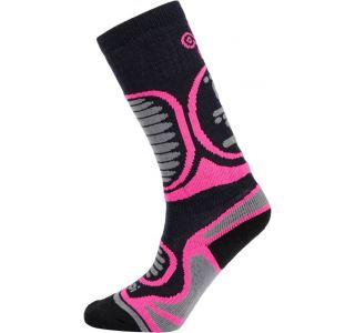 Detské lyžiarske ponožky Kilpi ANXO-J ružová