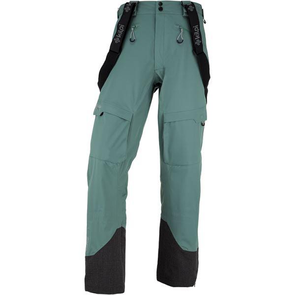 Pánske 3 vrstvové technické nohavice Kilpi LAZZARO-M khaki