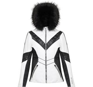 Dámska zimná bunda Dare2b EMPEROR biela / čierna