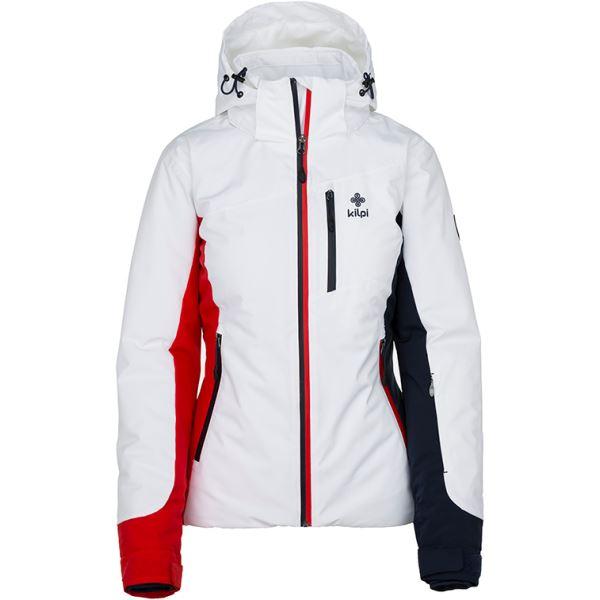 Dámska zimná lyžiarska bunda Kilpi SYLVA-W biela